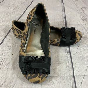 Fergalicious Alana Leopard Print Ballet Flats 8